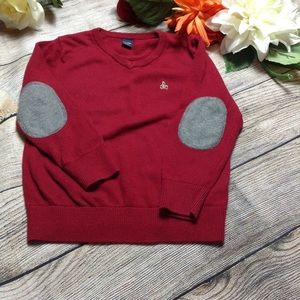 Gap sweater with elbow patches